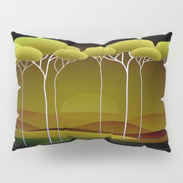 Sunrise on the Hill Pillow Sham