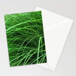470 - Abstract Grass Design Stationery Cards
