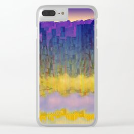 Urban 05-07-16 / WAVES of LIGHT Clear iPhone Case