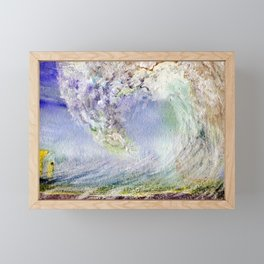 Fury Tsunami by Maureen Donovan Framed Mini Art Print