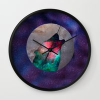howl Wall Clocks featuring Howl by vivajcious