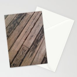 Lines at the ground Stationery Cards