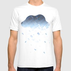 Cloud Mens Fitted Tee White MEDIUM