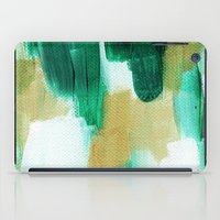emerald iPad Cases featuring Emerald by Patricia Vargas