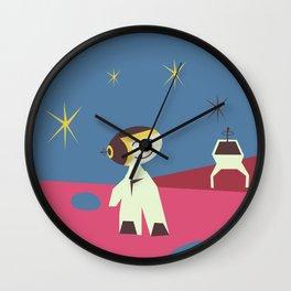 Have fun on the Moon, Wall Clock