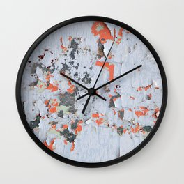 Peeling paint Textures 20 Wall Clock