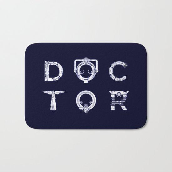 DOCTOR (Letters) Bath Mat