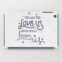 snape iPad Cases featuring Never leave us by Earthlightened