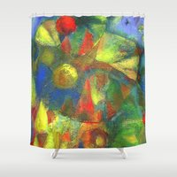 clown Shower Curtains featuring Clown by Nato Gomes