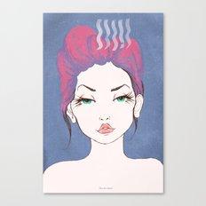 Balance Girl Canvas Print