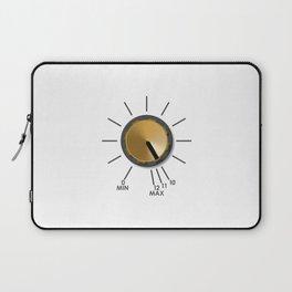 Turn It Up! Laptop Sleeve