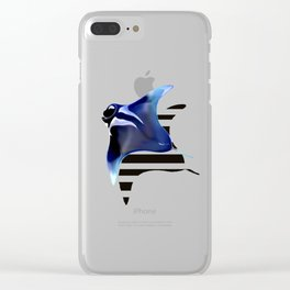 Manta Rays Clear iPhone Case