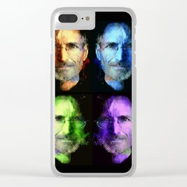Steve Jobs Clear iPhone Case