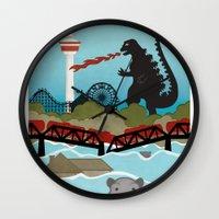 the neighbourhood Wall Clocks featuring YYCFlood by KeliGirl