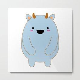 Cute Monster Metal Print