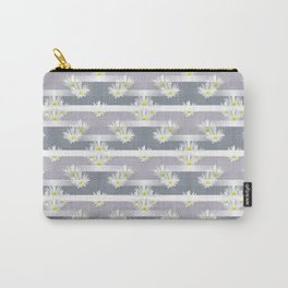 Mix of formal and modern with anemones and stripes 2 Carry-All Pouch