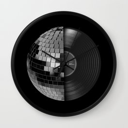 Disco Mix Wall Clock