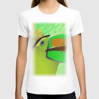 africa T-shirts featuring africa by Cenk Cansever