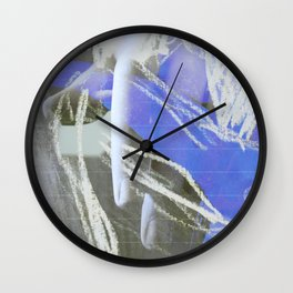 Mano (en espera) Wall Clock