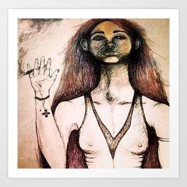 Jib Jab Art Print