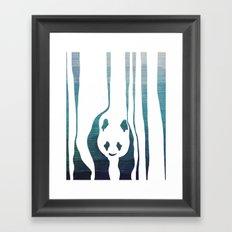 Panda's Way Framed Art Print