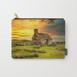 Abandoned Quarry Cottage Sunset Carry-All Pouch