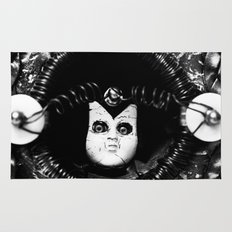 Doll People Assimilation B & W Rug