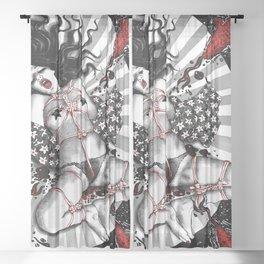 Sacrifice Of The Bastet Ingenue Sheer Curtain