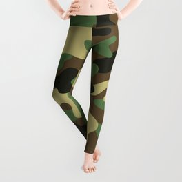 CAMO & WHITE BOMB DIGGITY Leggings