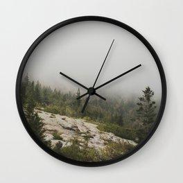 Hidden Mountain Wall Clock
