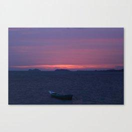 Thai sunset Canvas Print
