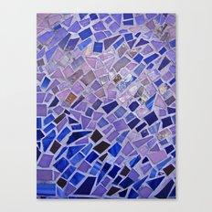 The Calm Mosaic Canvas Print