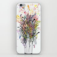 junk food iPhone & iPod Skins featuring Junk Food  by Sam Corona