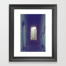 Light at the end of the tunnel II Framed Art Print