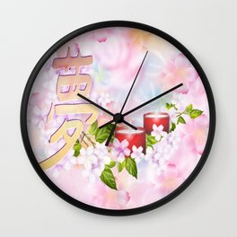 Traumzeit- dream time Wall Clock