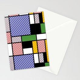 Mondrian PoP-Art Stationery Cards