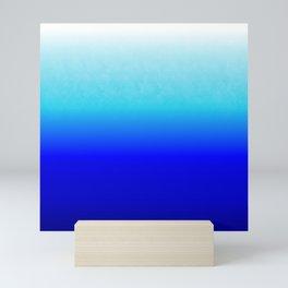 the blue serenity Mini Art Print