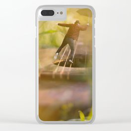 Equilíbrio Clear iPhone Case
