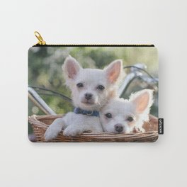chico & manny... Carry-All Pouch