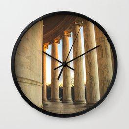 Around the Rotunda Wall Clock