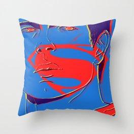 S U P E R M A N (BvS) Throw Pillow