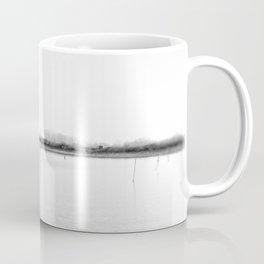 Minimal winter lake scene Coffee Mug