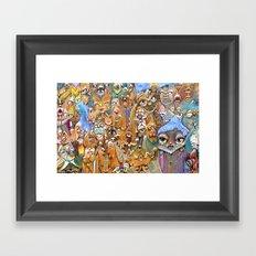 lavenderp Framed Art Print