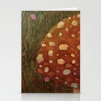 mushroom Stationery Cards featuring mushroom by rysunki-malunki