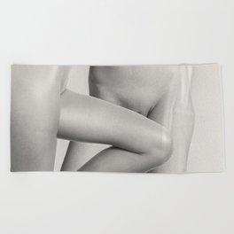 Two Lesbian Lovers Beach Towel