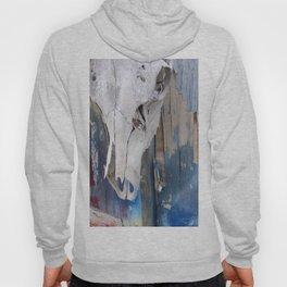 elk skull:colors Hoody