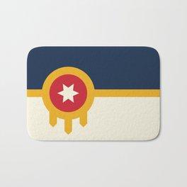 Tulsa Flag Bath Mat