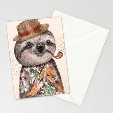 Mr.Sloth Stationery Cards
