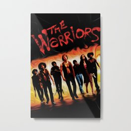 Warriors Metal Print