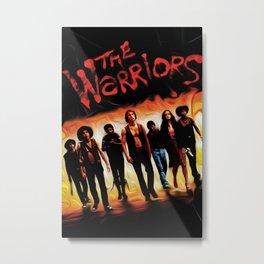 Warriors Metal Print